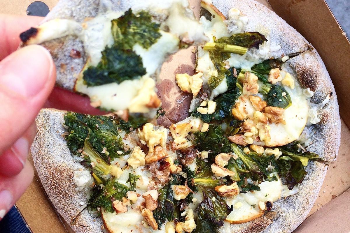 Vegan Pizza In London Blueberrysmiles